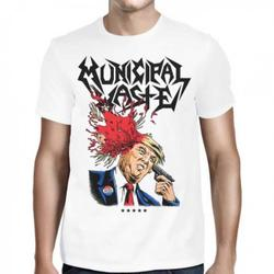 MUNICIPAL WASTE - Trump Walls of Death WHITE SHIRT