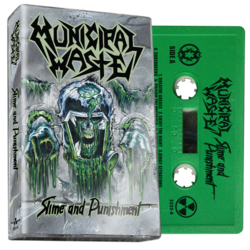 MUNICIPAL WASTE - Slime And Punishment (Green Cassette)