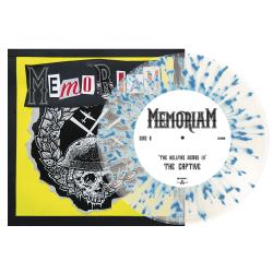 MEMORIAM The Hellfire Demos III CLEAR BLUE SPLATTER VINYL