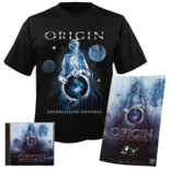 ORIGIN - Unparalleled Universe CD+ SMALL T-Shirt Bundle