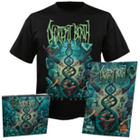 DECREPIT BIRTH - Axis Mundi T-Shirt + CD Digipak Bundle SMALL