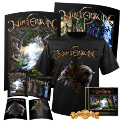 WINTERSUN - The Forest Seasons (T-Shirt+CD+Keychain Bundle) SM
