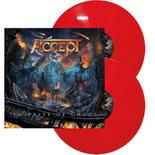 ACCEPT - The Rise of Chaos RED VINYL Import*