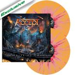 ACCEPT - The Rise of Chaos ORANGE RED SPLATTER VINYL Impor*