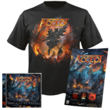 ACCEPT - The Rise of Chaos CD+T-Shirt+Poster Bundle*