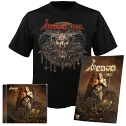 VENOM INC - Ave CD+T-Shirt Bundle SMALL