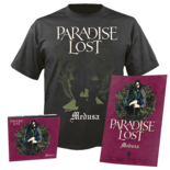 PARADISE LOST - Medusa CD-Digi+T-shirt+Poster Bundle SMALL