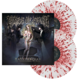 CRADLE OF FILTH - Cryptoriana (Clear w/Red Splatter)