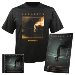 COMEBACK KID - Outsider CD+Poster+T-shirt Bundle LARGE