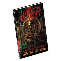 SLAYER Repentless EXCLUSIVE HARD COVER EDITION COMIC BOOK