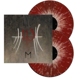ENSLAVED E (Red w/Bone and Grey Splatter DLP)