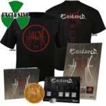 ENSLAVED - E CD-Digi+ Pin Set+ Coaster+ Poster+ MEDIUM shirt