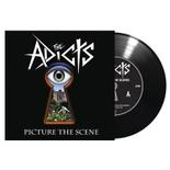 THE ADICTS - Picture the Scene BLACK VINYL Import