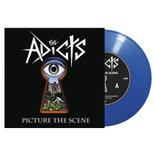 THE ADICTS - Picture the Scene BLUE VINYL Import