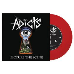 THE ADICTS - Picture the Scene RED VINYL Import