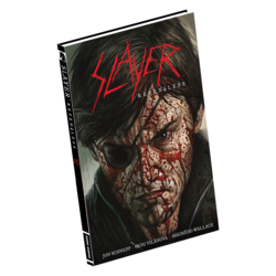SLAYER - Repentless HARDCOVER EDITION COMIC BOOK