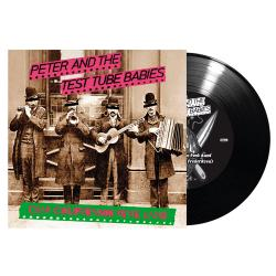 PETER AND THE TEST TUBE BABIES - Crap Californian Punk Band BLACK VINYL IMPORT