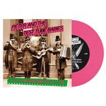 PETER AND THE TEST TUBE BABIES - Crap Californian Punk Band PINK VINYL IMPORT
