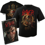 SLAYER - Repentless Hardcover Comic + T-Shirt Bundle MED