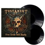 TESTAMENT - First Strike Still Deadly BLACK VINYL