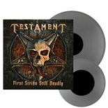 TESTAMENT - First Strike Still Deadly SILVER VINYL Import