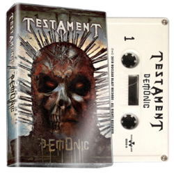 TESTAMENT - Demonic (White Cassette)
