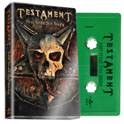 TESTAMENT - First Strike Still Deadly (Green Cassette)