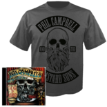 PHIL CAMPBELL AND THE BASTARD SONS - The Age of Absurdity CD+ LARGE T-shirt Bundle