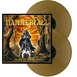 HAMMERFALL - Glory to the Brave 20 Year Anniversary GOLD VINYL