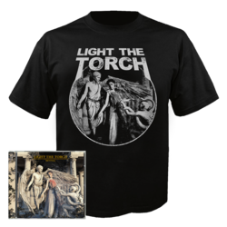 LIGHT THE TORCH - Revival CD+ T-shirt Bundle 2XL