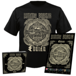 DIMMU BORGIR - Eonian CD-Digi+ T-shirt Bundle SMALL
