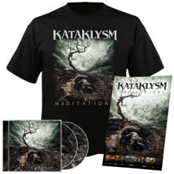 KATAKLYSM Meditations CD-DVD+T-Shirt Bundle 2XL