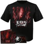 BLEEDING THROUGH - Love Will Kill All CD-Digi + T-shirt Bundle SMALL