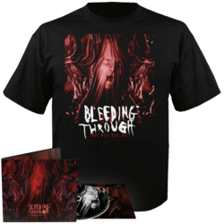 BLEEDING THROUGH Love Will Kill All CD-Digi + T-shirt Bundle XL