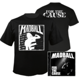 MADBALL - For the Cause CD+T-shirt Bundle LARGE