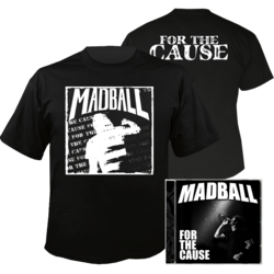 MADBALL For the Cause CD+T-shirt Bundle LARGE