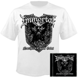 IMMORTAL - Northern Chaos Gods CD+SMALL T-shirt+Poster Bundle