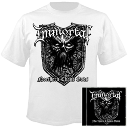 IMMORTAL Northern Chaos Gods CD+SMALL T-shirt+Poster Bundle