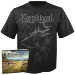 KORPIKLAANI - Kulkija CD-Digi+ SMALL T-shirt Bundle