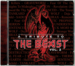 VARIOUS ARTISTS - A tribute to the beast Vol. 2