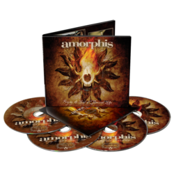 AMORPHIS Forging The Land Of Thousand Lakes 2 cd/2 dvd