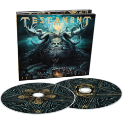 TESTAMENT - Dark Roots Of Earth (CD+DVD Digipak)