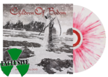 CHILDREN OF BODOM - Halo Of Blood (White w/ Red Splatter LP)