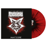 FETUS EATERS - Manticore (Red w / Black splatter)