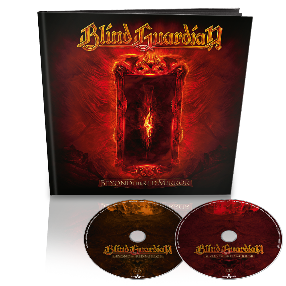 blind guardian beyond the red mirror earbook