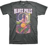 BLUES PILLS - Astral Lady Gray Shirt
