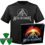METAL ALLEGIANCE - Metal Allegiance CD/DVD Digipak + T-Shirt Bundle
