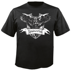 IMMORTAL - Crest Shirt