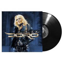 DORO - Love's Gone to Hell BLACK VINYL SINGLE Import