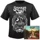 SCORPION CHILD - Acid Roulette (CD + T-Shirt Bundle) MED